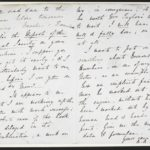 Letter from Ada Lovelace to Charles Babbage